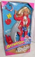 * NRFB BARBIE ~ 1994 MATTEL BAYWATCH LIFEGUARD WITH DOLPHIN FRIEND DOLL MIB
