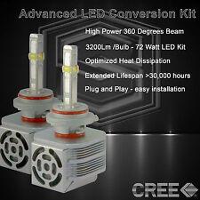 360 Degree Beam - New Gen CREE LED 6400LM High Beam Kit 6k 6000k - 9005 HB3 (K)