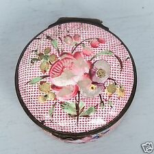 Antique 18th Century Battersea Bilston English Enamel Patch Box # 4 -  snuff VR