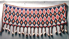 CACHE SEX COSTUME ACCESSORY CLOTHING BEADS KIRDI APRON ADORNMENT CAMEROON ETHNIX