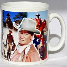 John Wayne Mug Tribute The Duke Collage Mug Cup Perfect Gift Decorated in UK