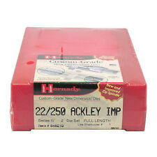Hornady Ammo Reloading Equipment Series IV Die Set 22/250 Ackley 546219