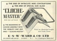 1953 Esw Ward & Co Edgeware Rd Cloche Master Ad