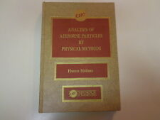 Analysis of Airborne Particles by Physical Methods 1978 CRC Press Chemistry