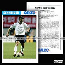 SCHNEIDER BERND (FRANKFURT, NAYER LEVERKUSEN) - Fiche Football / Fussball 2002