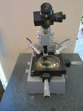 OPTICAL MICROSCOPE TOOLMAKER GERMANY INSPECTION AS IS OPTICS  #LOBBY