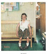 "Norman Rockwell LGBTQ print ""DISCIPLINARY ACTION"" or ""THE SHINER"" Black Eye"