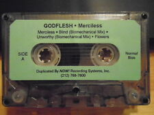RARE ADVANCE PROMO Godflesh CASSETTE TAPE Merciless 1994 JESU Napalm Death FINAL