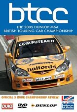 BTCC REVIEW 2005 DVD. 198 Mins. British Touring Car. Neal, Honda. DUKE 3926NV