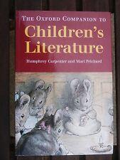 The Oxford Companion to Children's Literature, unread book