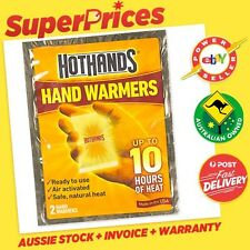 2 x HotHands◉1 Pair Hand Warmers◉Disposable◉10 Hours Heat◉Pocket Glove◉USA Made