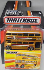 KKar Matchbox - 2016 Best of Matchbox - Routemaster Bus - Gold