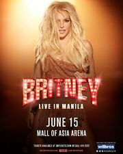 Britney Spears Live in Manila Concert Tickets (3x, Lower Box A Section 205)