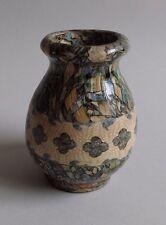 Gerbino Vallauris. Vase en faïence à décor de mosaïques, XXe siècle