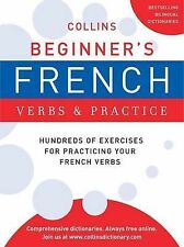 New COLLINS BEGINNER'S FRENCH Verbs & Practice HUNDREDS OF EXERCISES pb
