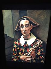 "Andre Derain ""Harlequin"" Fauvism French Art 35mm Glass Slide"