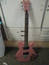 Lyon by Washburn LP style Electric Guitar Pink Sparkle