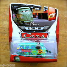 Disney World of Cars FILLMORE WITH HEADSET 2014 PIT CREW THEME diecast 1/5