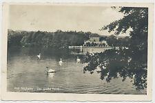 AK Bad Nauheim Der große Teich (F627)