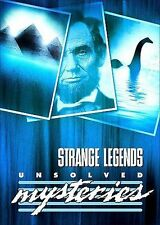 Unsolved Mysteries: Strange Legends, Acceptable DVD, ,