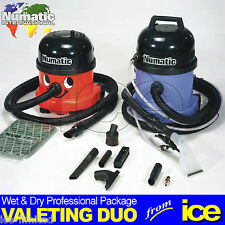 HAND CAR WASH VALETING SERVICE WET & DRY VACUUM CLEANING EQUIPMENT KIT PACKAGE