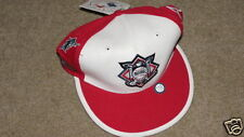 NEW TW White / Red National League Print Cap - 7 1/8 Fitted - 15% Wool