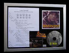 EMINEM Lose Yourself GALLERY QUALITY CD FRAMED DISPLAY+EXPRESS GLOBAL SHIP