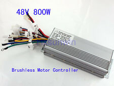 72V 800W Electric Bicycle Brushless Speed Motor Controller For E-bike & Scooter