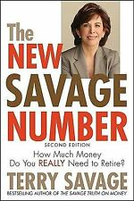 The New Savage Number: How Much Money Do You Really Need to Retire, Savage, Terr