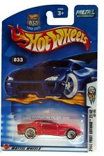 2003 Hot Wheels #33 First Edition #21 GT-03 0711 card