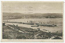 Harbour and bay, Douglas I.o.M., 1939 postcard