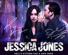 Krysten Ritter David Tennant Jessica Jones Signed Photo Autograph Reprint