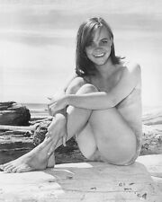 SALLY FIELD BIKINI 8X10 B&W PHOTO EARLY GIDGET POSE
