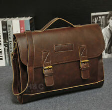 Men's Portfolio Business Case Briefcase Handbag Shoulder Laptop Messenger Bag