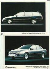 VAUXHALL 'NEW' OMEGA 1993 PRESS PHOTO BROCHURE RELATED TWO OF
