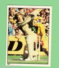 1982 SCANLENS CRICKET STICKER #107  IAN SMITH, NEW ZEALAND