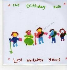 (CZ253) The Birthday Suit, Less Worthless Years - DJ CD