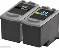 CANON 1 X BLACK PG-37 + 1 X CL-38 COLOUR INK REFILLED