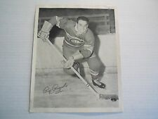 1X HOWIE RIP RIOPELLE 1945 54 Quaker Oates Photo #110B CANADIENS Home Action
