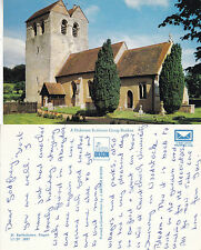 1980's St BARTHOLOMEWs CHURCH FINGEST BUCKINGHAMSHIRE COLOUR POSTCARD