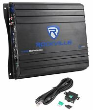 Rockville RVA600.1 1200w Peak Mono Amplifier 200w RMS @ 4 Ohms CEA Compliant