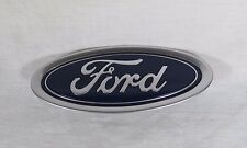 FORD FUSION FRONT BUMPER EMBLEM 13-16 OEM BLUE OVAL BADGE sign symbol logo name