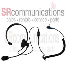 Over Head Boom Mic Headset for Motorola CLS1110 CLS1410 VL50 DTR410 DTR550