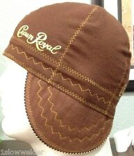 Maple Brown Crown Royal FR Welding Caps Made in U.S.A. Any Size, IBEW, UA Welder