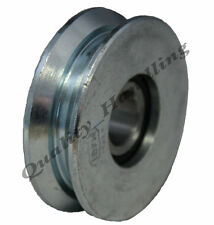 Roue pour barrière coulissante, réa, 60mm, roue en acier à rainure en V, forme e