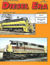 Diesel Era V14 N5 Alco T-6 Erie Lackawanna SD45Baldwin VO-1000 CSX SD70MAC
