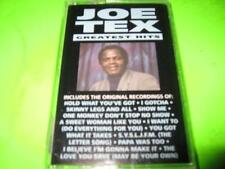 NEW FACTORY SEALED: JOE TEX GREATEST HITS ~ CASSETTE TAPE