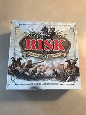 Risk: 40th Anniversary Collector's Edition ~ Parker Brothers ~ Metal Infantry