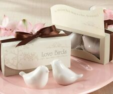 Pair of Love Birds Salt & Pepper Shaker  - Wedding Bomboniere, Favours, Gifts