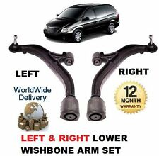 FOR CHRYSLER VOYAGER & GRAND 2000-2008 LEFT RIGHT LOWER SUSPENSION WISHBONE ARM